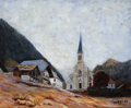 eglise chatel saint laurent 1900